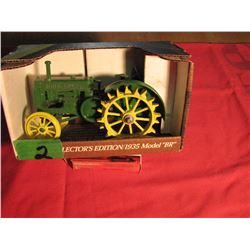 1/16 1935 John Deere BR tractor on steel wheels