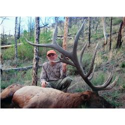 2017 Utah Mt Dutton Multi Season Elk Conservation Permit