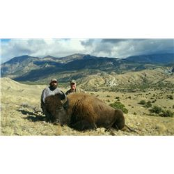 2017 Utah Henry Mtns Bison Conservation Permit Hunter's Choice (early)