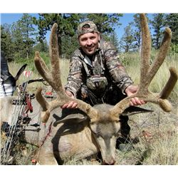Archery Mule Deer Hunt on Private Ranch in Southern Colorado
