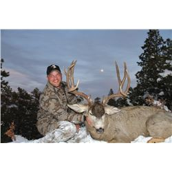2017 Jicarilla Tribe Mule Deer and Elk Combo Auction Permit