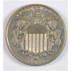 1883 SHIELD NICKEL BU