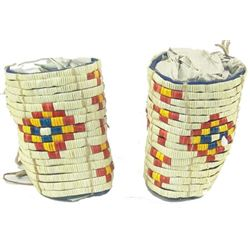 Plains Quilled Cuffs