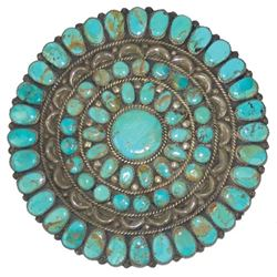 Navajo Brooch Pin - Juliana Williams