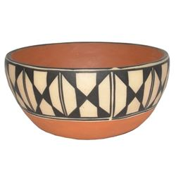 Santo Domingo Pottery Bowl - Anna Lovato