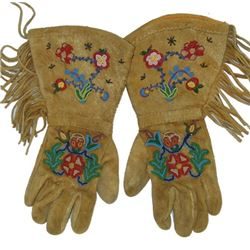 Cree Beaded Gauntlets