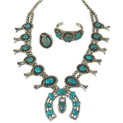 Navajo Necklace Set