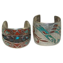 2 Navajo Bracelets - Willy/Tommy Singer