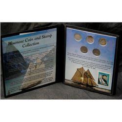 Bluenose 10-Cent Dime Coin & Stamp Collection By First Commemorative Mint