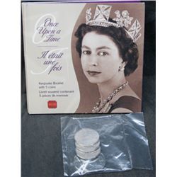 Once Upon A Time - 5 50-Cent Canadian Coins Commemorating Queen Elizaabeth II
