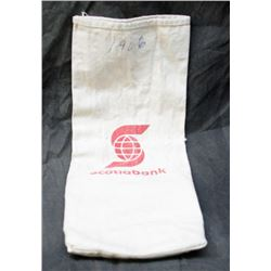 Original Vintage Cloth Scotiabank Coin Bag