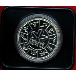 1978 Canada Silver Dollar Coin In Clamshell From The Royal Canadian Mint
