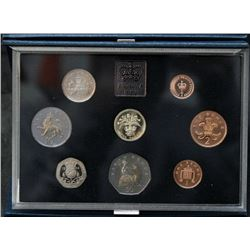 1984 UK - Great Britain - Proof Coin Set By The Royal Mint