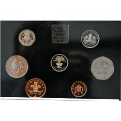 1985 UK - Great Britain - Proof Coin Set By The Royal Mint