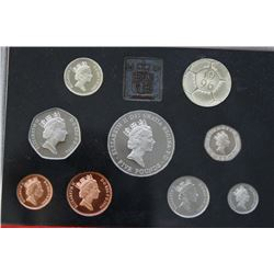 1996 UK - Great Britain - Proof Coin Set By The Royal Mint
