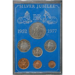 1997 UK - Great Brtain - Siver Jubilee Coin Set By The Royal Mint