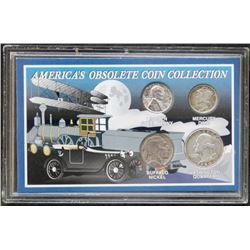 America's Obsolete Coin Collection - 4 Coins
