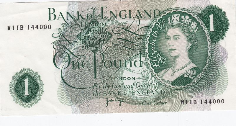 Image 2 3 Uk Great Britain 1960 S 70 Bank Notes 10