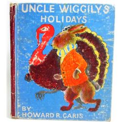 1936  UNCLE WIGGLY'S HOLIDAYS  HARDCOVER BOOK