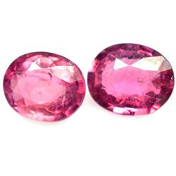 LOT OF 1.74 CTS OF PINK NIGERIAN TOURMALINE[