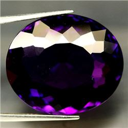 LARGE 57.39 CT BRAZILIAN AMETHYST