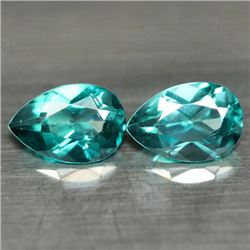 LOT OF 3.26 CTS OF AZOTIC GREEN RAINBOW MYSTIC BRAZILIAN TOPAZ