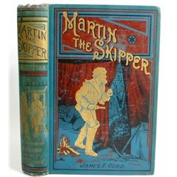 "ANTIQUE C. 1919 ""MARTIN THE SKIPPER"" HARDCOVER BOOK"