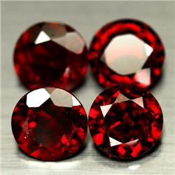 LOT OF 7.66 CTS OF RED AFRICAN GARNETS