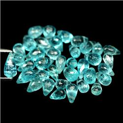 LOT OF 15.31 CTS OF BLUE MADAGASCAR APATITES