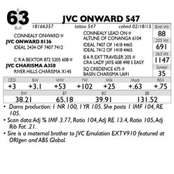 Lot 63 - JVC ONWARD 547