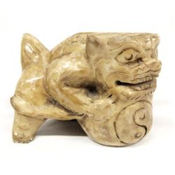 Jade Foo Dog Ceremonial Keeper of the Gates