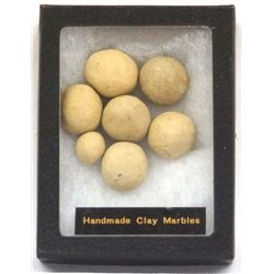 Collection of Clay Marbles