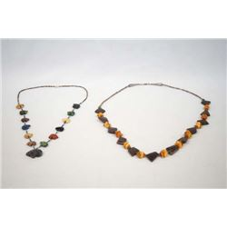 Pair of Southwestern Style Necklaces