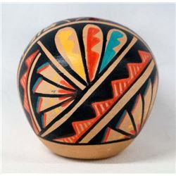Jemez Polychrome Seed Jar by R. Toya