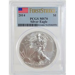2014 PCGS MS70 ASE