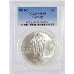 1995 Cycling PCGS MS69