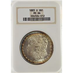 1883 O NGC MS66 Morgan Silver Dollar