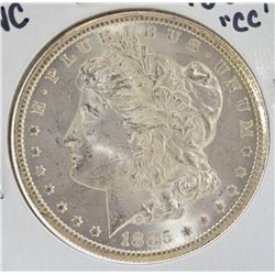 "1885 ""CC"" Uncirculated Morgan Silver Dollar"
