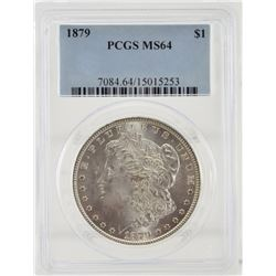 1879 PCGS MS64 United States Morgan Dollar