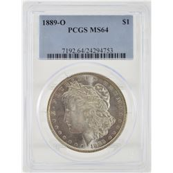 "1889 ""O"" PCGS MS64 United States Morgan Silver Dollar"