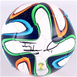 Tim Howard Signed Adidas 2014 FIFA World Cup Soccer Ball (JSA COA)