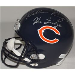 "William Perry Signed Bears Full-Size Helmet Inscribed ""The Fridge"" (Schwartz COA)"