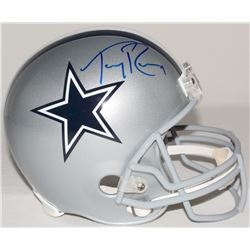 Tony Romo Signed Cowboys Full-Size Helmet (JSA)