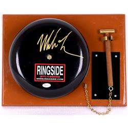Mike Tyson Signed Authentic Full Size Ringside Boxing Bell (JSA COA)
