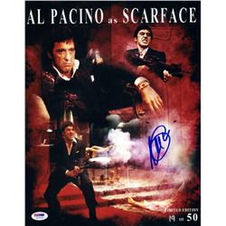 "Al Pacino Signed Limited Edition ""Scarface"" 11x14 Photo #19/50 (PSA COA)"