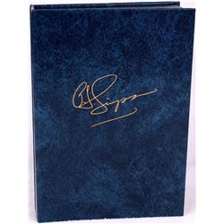 "OJ Simpson Signed Limited Edition Hardback Book ""I Want to Tell You"" # of 3,000 (JSA COA)"