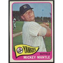 Mickey Mantle 1965 Topps #350