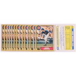 Lot of (15) Greg Maddux 1987 Topps Traded #70T XRC
