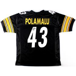 Troy Polamalu Signed Steelers Jersey (TSE COA)