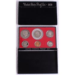 1979 United States Mint Clad Proof Set of (6) Coins
